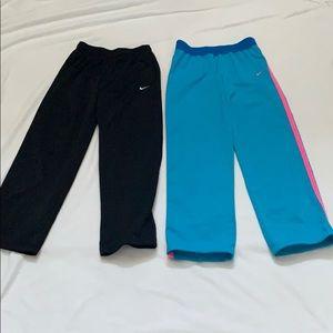 Girls Nike XL sweatpants bundle of 2